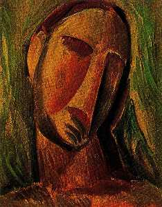 Head of a woman 7