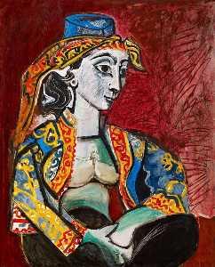 Jacqueline in Turkish Dress 1