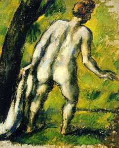 Bather from the Back