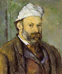 Self Portrait in a White Cap