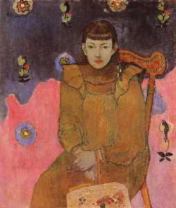 Portrait of a Young Woman, Vaite (Jeanne) Goupil