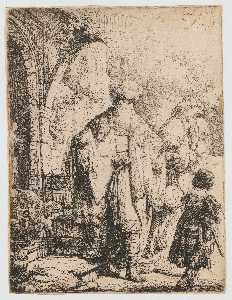 Abraham Sending Away Hagar and Ishmael