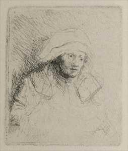 Rembrandt's Wife - Dying