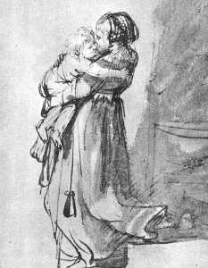 Saskia with a Child