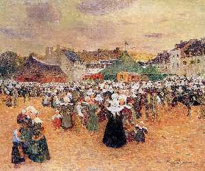 The Fair at Pont-Aven