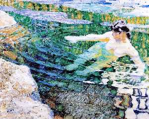 Water. The Bather.