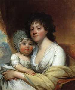Elizabeth Corbin Griffin Gatliff and Her Daughter Elizabeth