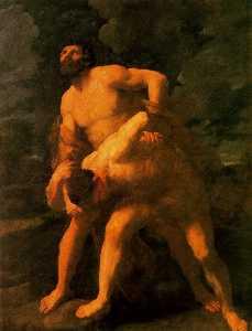 Hércules lucha con Aqueloo
