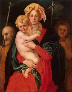 Madonna and Child with St. Joseph and Saint John the Baptist