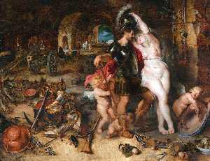 The Return from War. Mars Disarmed by Venus