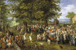 Wedding Banquet Presided Over by the Archduke and Infanta