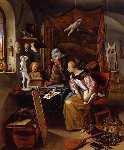 Wikioo.org - The Encyclopedia of Fine Arts - Artist, Painter  Jan Steen