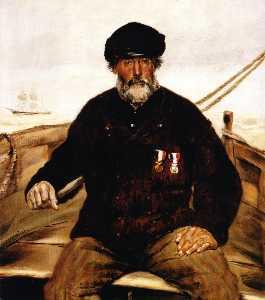 Pere Altazin. Chief Lifeguard of Honfleur
