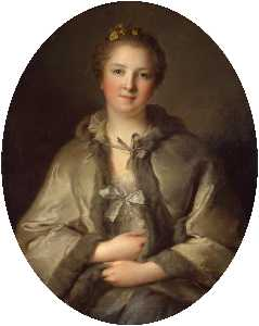 Portrait of a Woman in Grey