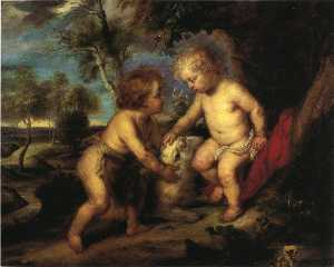 The Christ Child and the Infant St. John after Rubens