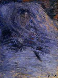 Camille Monet on Her Deathbed