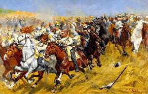 Cavalry Sketch