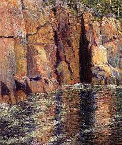 The Cliffs at Ironbound Island, Maine