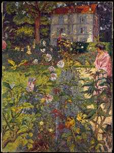 The Clos Cézanne at Vaucresson