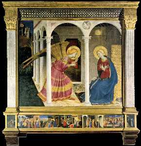 The Cortona Altarpiece (The Annunciation)