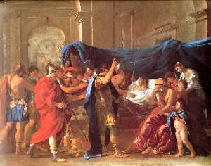 The Death of Germanicus - detail