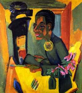 Der Maler, Selbstporträt