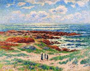 Wikioo.org - The Encyclopedia of Fine Arts - Artist, Painter  Henri Moret
