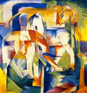 Elephant, Horse, Cattle