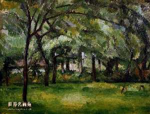 Farm in Normandy, Summer (also known as Hattenville)