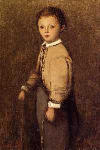 фернан коро , тем Painter's гранд племянник , на В возрасте 4 и а Половина Лет