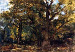 Forest Scene near Sénart