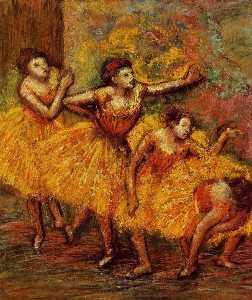 Four Dancers (also known as Quatre danseuses)