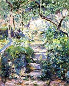 Garden Steps in Neukastel