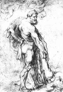 Hércules coronado por Genii