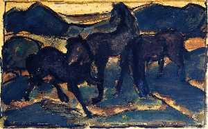 Horses at Pasture I