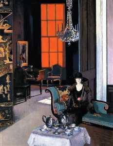 Interior: The Orange Blind