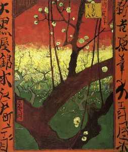 Japonaiserie (after Hiroshige)