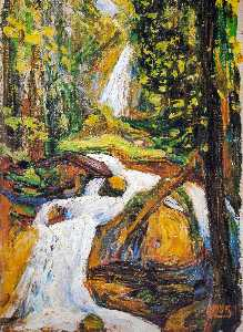Kochel - Waterfall I