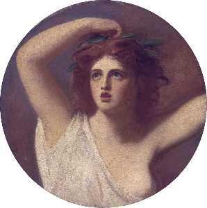 Lady Emma Hamilton, as Cassandra