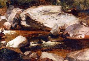 Landscape: Creek and Rocks