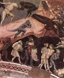 giudizio finale ( particolare 17 ) ( cappella degli scrovegni ( cappella arena ) , Padova )