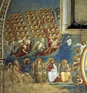 Last Judgment (detail 3) (Cappella Scrovegni (Arena Chapel), Padua)