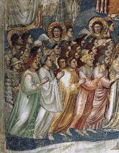 giudizio finale ( particolare 7 ) ( cappella degli scrovegni ( cappella arena ) , Padova )