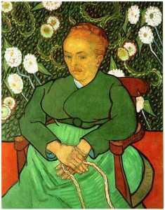 La Berceuse, Portrait of Madame Roulin