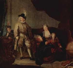 Family Portrait of Baron von Erlach