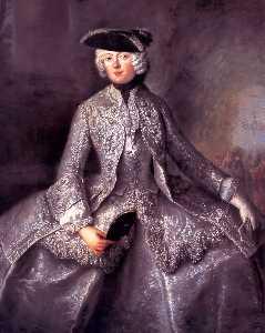 Princess Amalia of Prussia as an Amazon