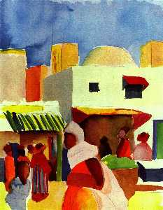 Marketin Algiers