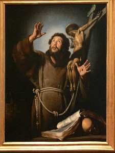 St.Francis in ecstasy
