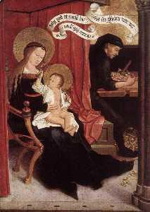 Mary and Joseph with Jesus