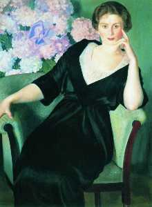 Portrait of Rene Ivanovna Notgaft
